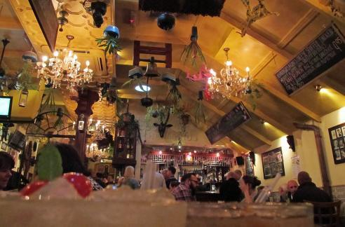 Not a place for minimalists: Bar Dos Hermanos gets busy and bizarre