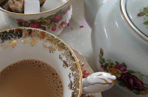 Vintage loveliness at The Secret Tea Room