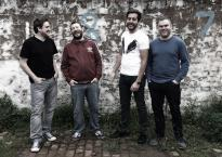 The Clarendons: bassist Chris Smith, guitarist Will Sarson, vocalist Jamie Pelos and drummer Keith Witchard