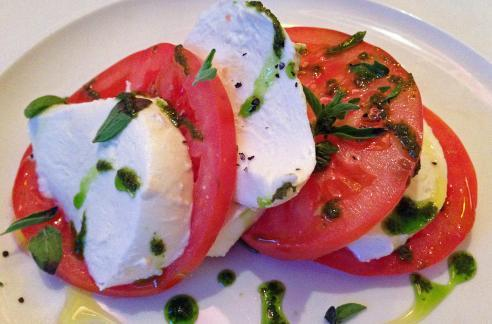 Keeping it fresh - Tomato and Mozzerella Salad