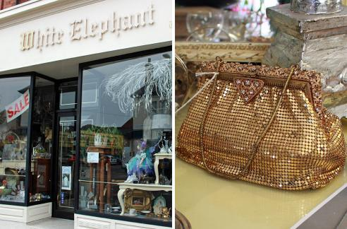 This vintage gold mesh clutch bag is an absolute stunner - perfect for adding a bit of old-fashioned glamour to any outfit and at £40 you get plenty of bling for your buck