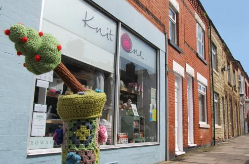 Get your knit on at Knit One on Queens Road