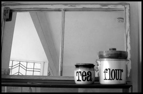 Vintage pots in PLANK, Clarendon Park, Leicester