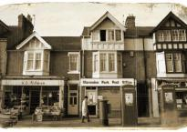 This 'antiqued' photo of Leicester's Queens Road isn't quite what it seems...